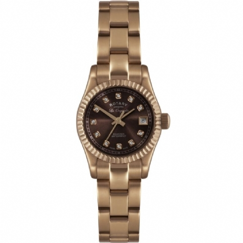 Ladies Rotary Verbier Diamond Watch LB08153/16