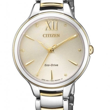 Ladies CITIZEN L Two Tone Bracelet Watch EM0554-82X