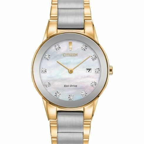 CITIZEN ECO-DRIVE AXIOM LADIES WATCH GA1054-50D