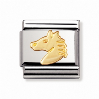 Nomination Classic Animal Horse Head Charm Link 030112/10