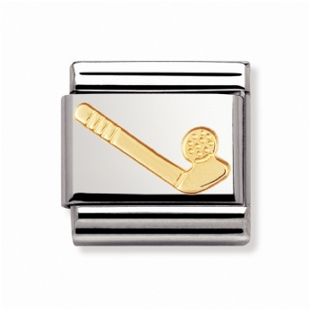 Nomination Classic Sports Golf Club and Ball Charm Link