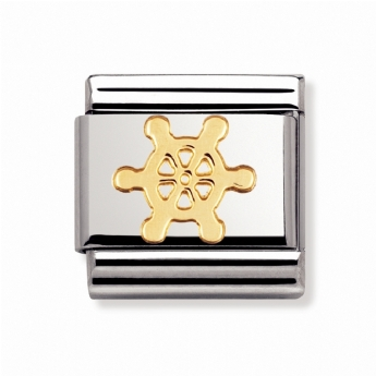 Nomination Classic Sports Ship Wheel Charm Link 030106/14