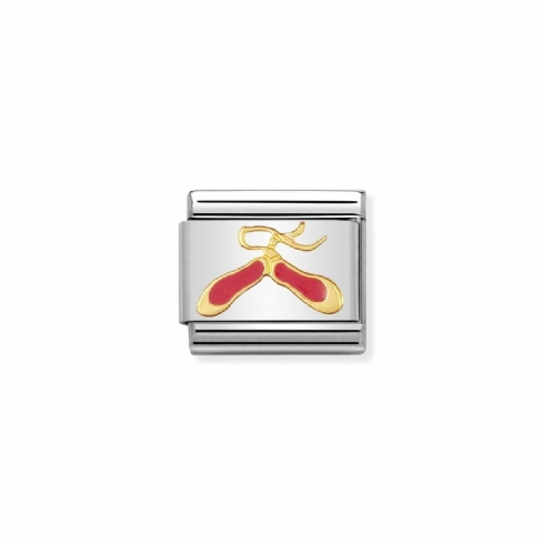 Nomination Classic Daily Ballet Shoes Charm Link