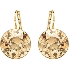 Swarovski Bella Gold-Tone Plated Crystal Earrings