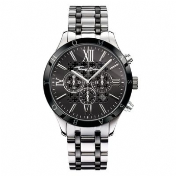 Thomas Sabo Rebel at Heart Rebel Urban Black Dial Chronograph Watch