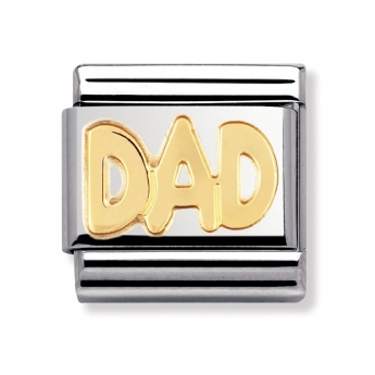 Nomination Classic Writings DAD Charm Link 030107/11