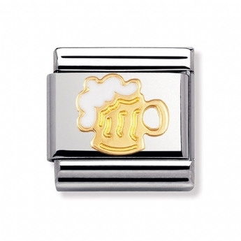 Nomination Classic Beer Tankard Charm Link
