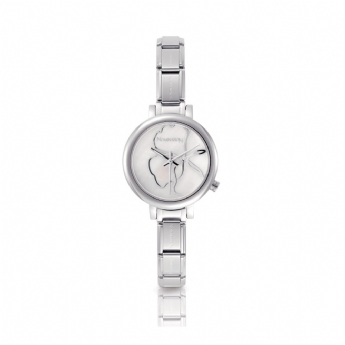 Nomination Paris Watch with White Strap