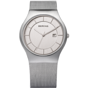 Bering Stainless Steel Date on Dial Watch