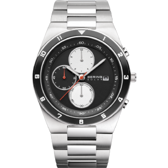 Bering Gents Stainless Steel SOLAR Watch