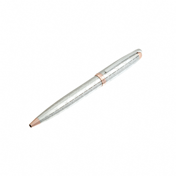 Jos Von Arx Ball Point and Roller Pen Set with Rose Gold