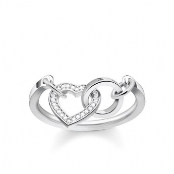 Thomas Sabo Together Forever Heart Ring