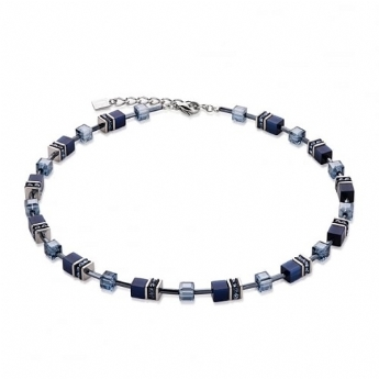 Coeur de Lion Navy Blue Necklace