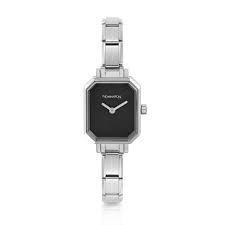 Nomination Paris Rectangular Black Dial Watch