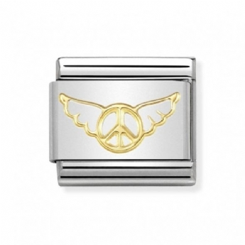 Nomination Angel Of Inner Peace Charm Link