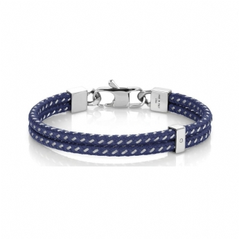 Nomination Tribe Double Blue Bracelet with Cubic Zirconia 026431/004
