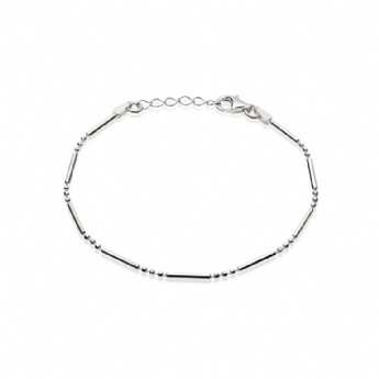 Daisy London Silver Stacked Essentials Bracelet