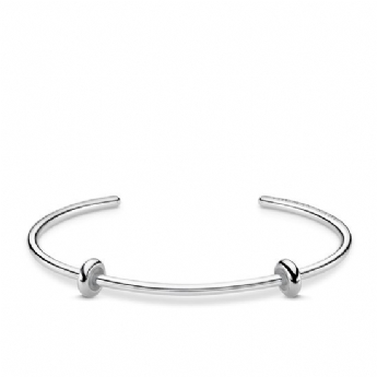 Thomas Sabo Extra Large Karma Bangle with Rubber Charm Stoppers