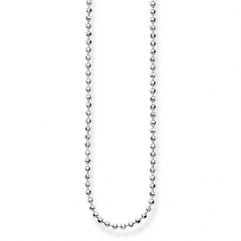 Thomas Sabo 42cm Sterling Silver Beaded Chain