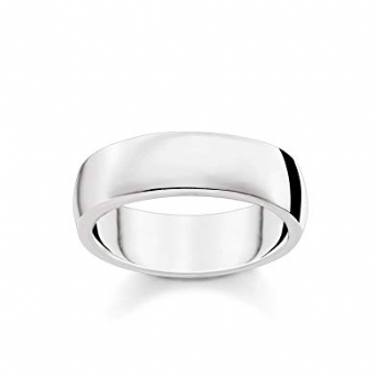 Thomas Sabo Sterling Silver Broad Rounded Ring Size 62