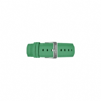 Weird Ape 20mm Green Suede Watch Strap Only with Stainless Steel Buckle ST01-000109