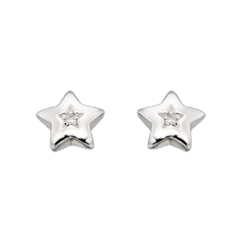 Little Star Noor Diamond Star Studs LSE0032