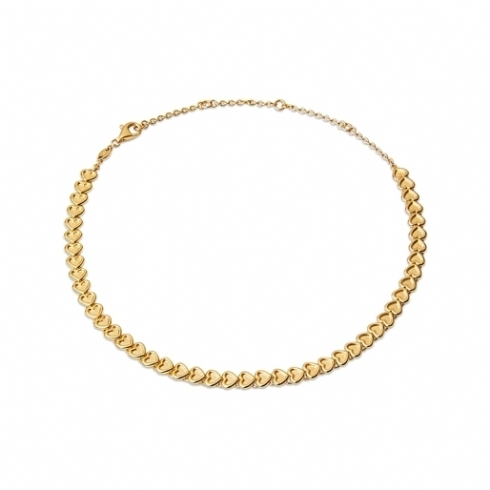 Links of London Yellow Gold Plated Endless Love Choker Necklet 5020.3971