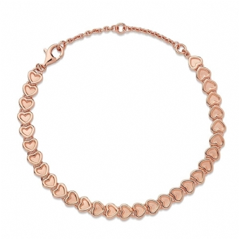 Links of London Rose Gold Plated Endless Love Bracelet 5010.4243