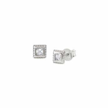 Nomination Bella Square Crystal Earrings 142687/005