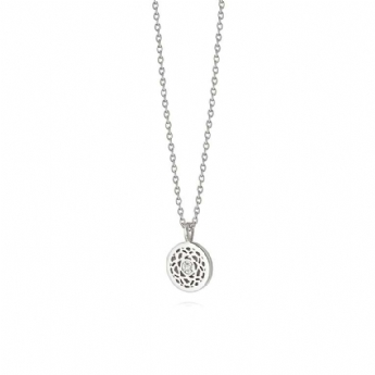 Daisy London Sparkle Crown Chakra Pendant and Chain NCHK5021