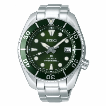 Seiko Prospex Automatic Diver Sumo Green Mens Stainless Steel Watch SPB103J1