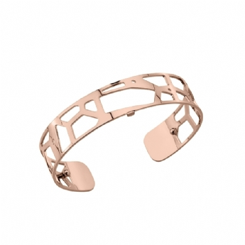 Les Georgettes Rose Tone Coated 14mm 'Girafe' Bangle 7026165/40/00/000