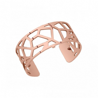 Les Georgettes Rose Tone Coated 25mm 'Girafe' Bangle 7027442/40/00/000