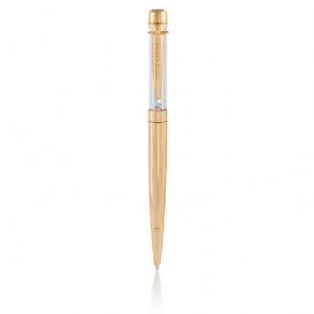 Olivia Burton Rainbow Crystal Bee Pen in Gold Plate OBACS07