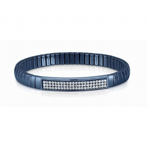 Nomination Stainless Steel and Blue Plated Cubic Zirconia Extension Bracelet 043216/010