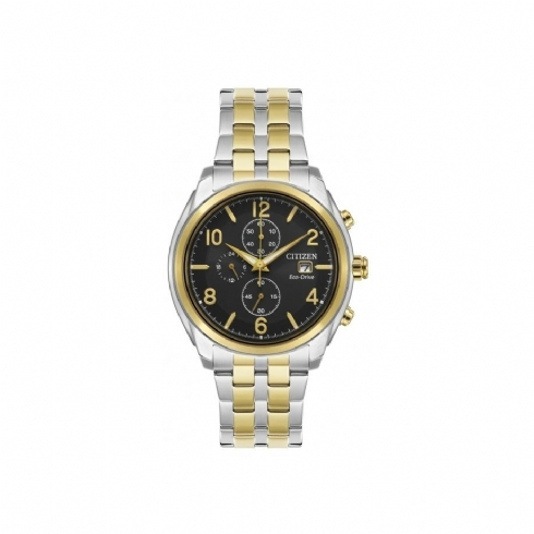 Citizen Gents Two-Colour Chronograph CA0674/50E