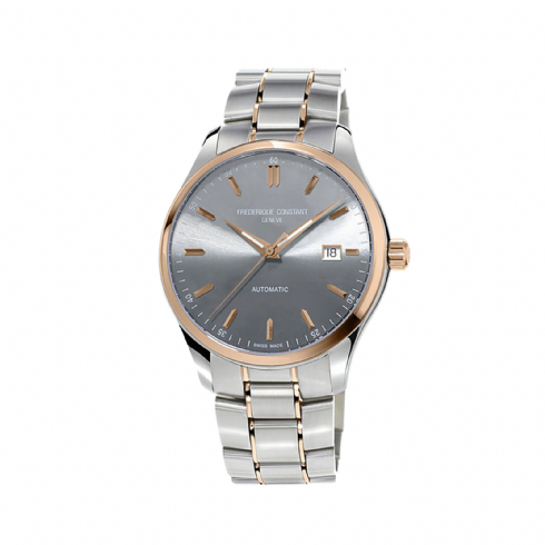 Frederique Constant Stainless Steel and Rose Tone Gents Automatic with Steel Bracelet FC-303LGR5B2B