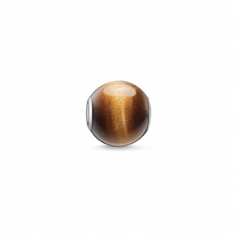 Thomas Sabo Tiger's Eye Karma Bead