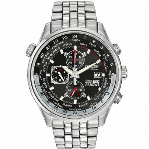 Citizen Gent's Eco-Drive Red Arrows Black Dial Watch CA0080/54E