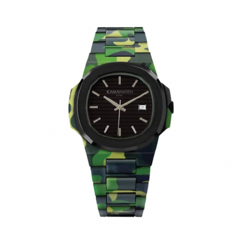 Kama Watch Bope Fixed Colour Camo Bracelet Watch KWPF29