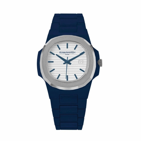 Kama Watch Navy Fixed Colour Bracelet Watch KWPF32