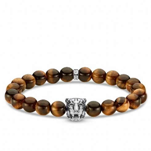Thomas Sabo Rebel Tiger's Eye Bracelet A1939