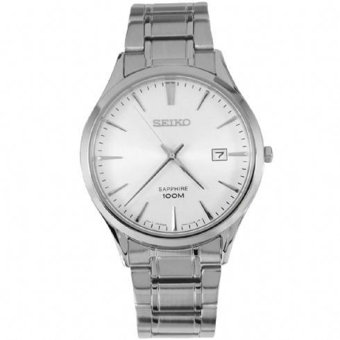 Seiko Men's Analogue Quartz Watch with Stainless Steel Bracelet SGEG93P1
