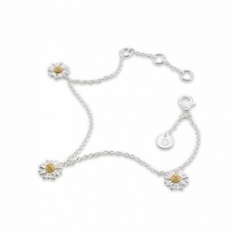 Three 8mm Star Daisy Bracelet